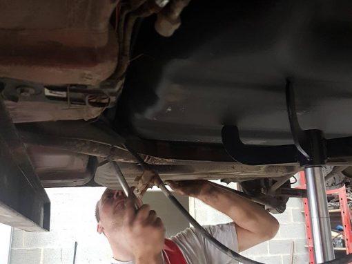 Remplacement réservoir Toyota corolla #reparation