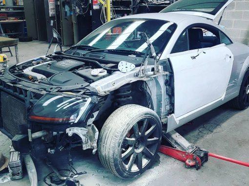 Réparation bloc avant audi tu #carrosserie