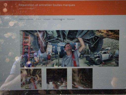 La page du site ! #reparation
