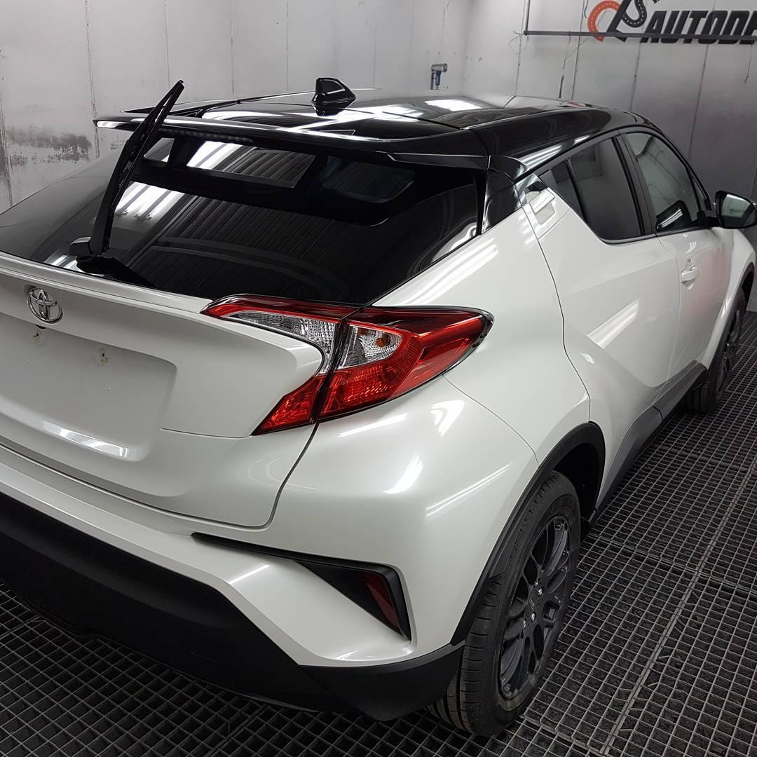 Traitement céramique Toyota ch-r